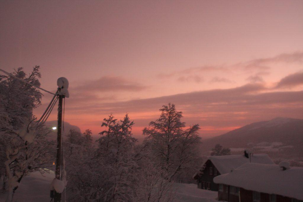 Ingen sol än i Kitetlfjäll
