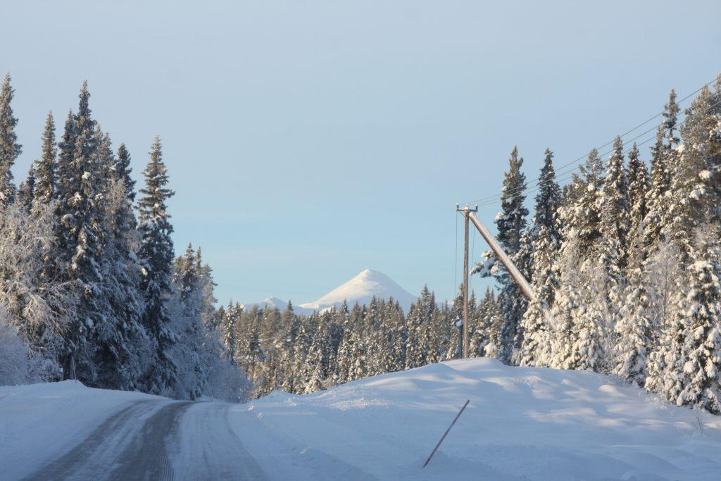 Bilväg till Kittelfjäll