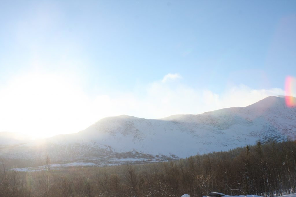 Sol över Kittelfjäll