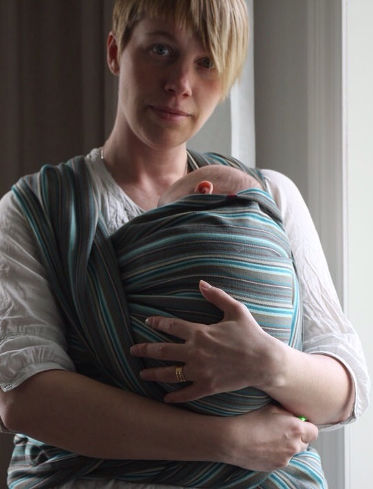 Bära barn i sjal
