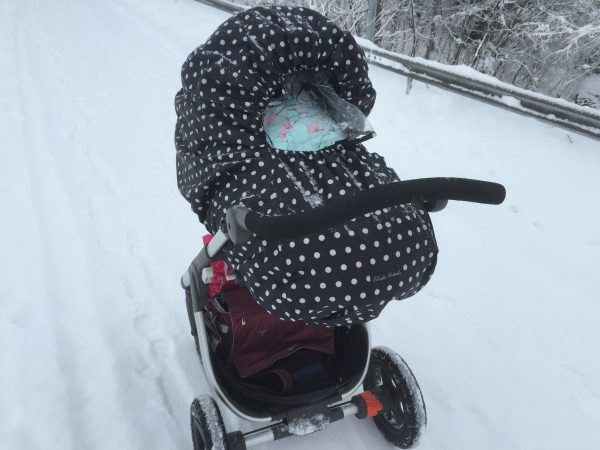 Stokke trailz snö norrland