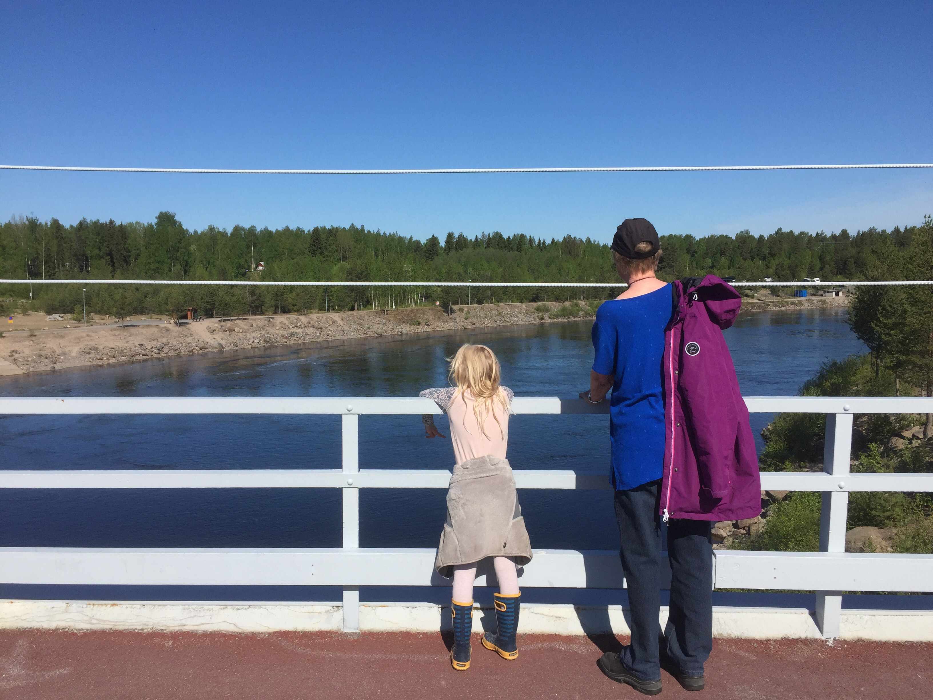 luleälv fiske dammen kraftstation boden