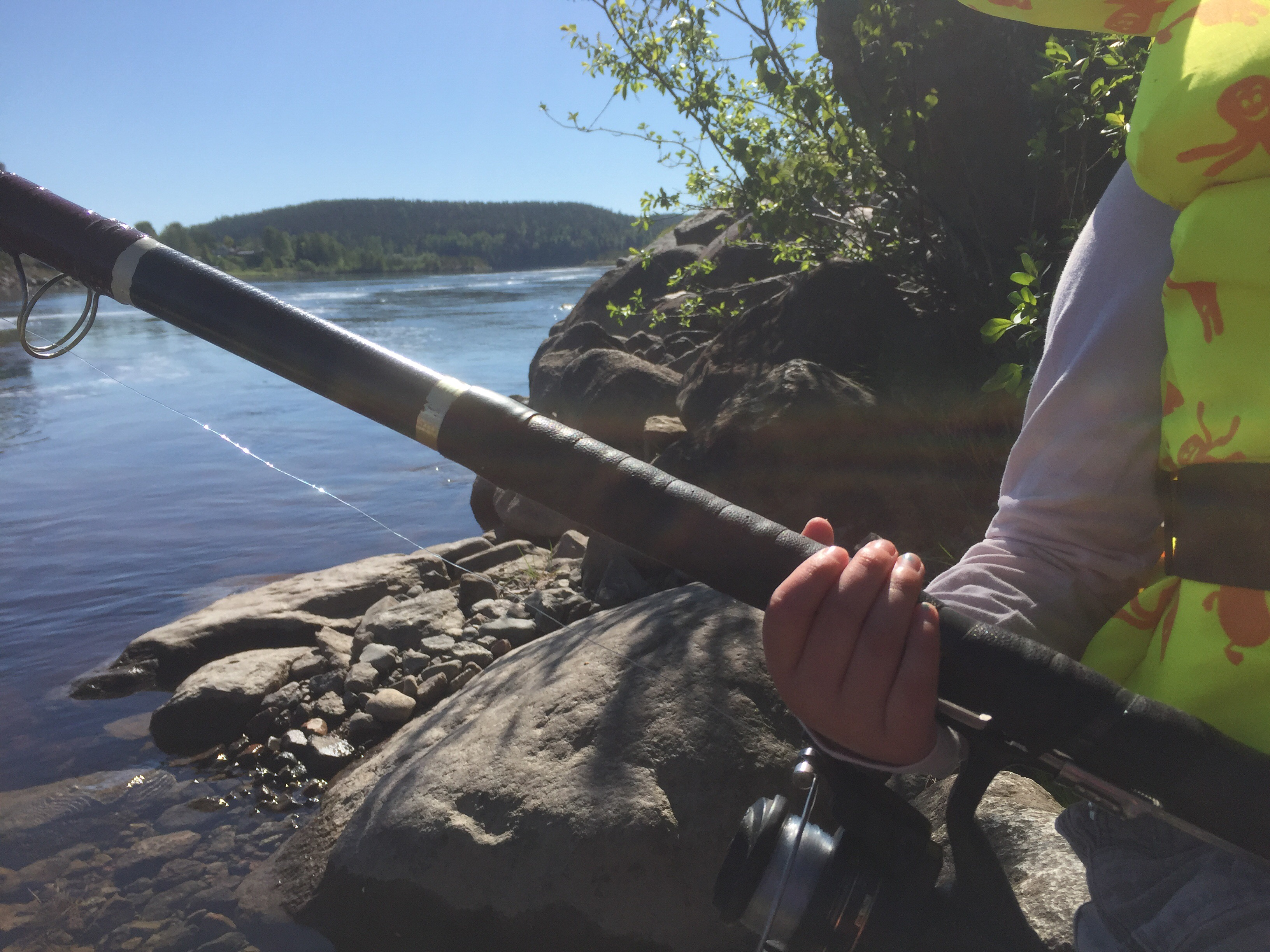 fiske luleälv boden kraftstation dammen