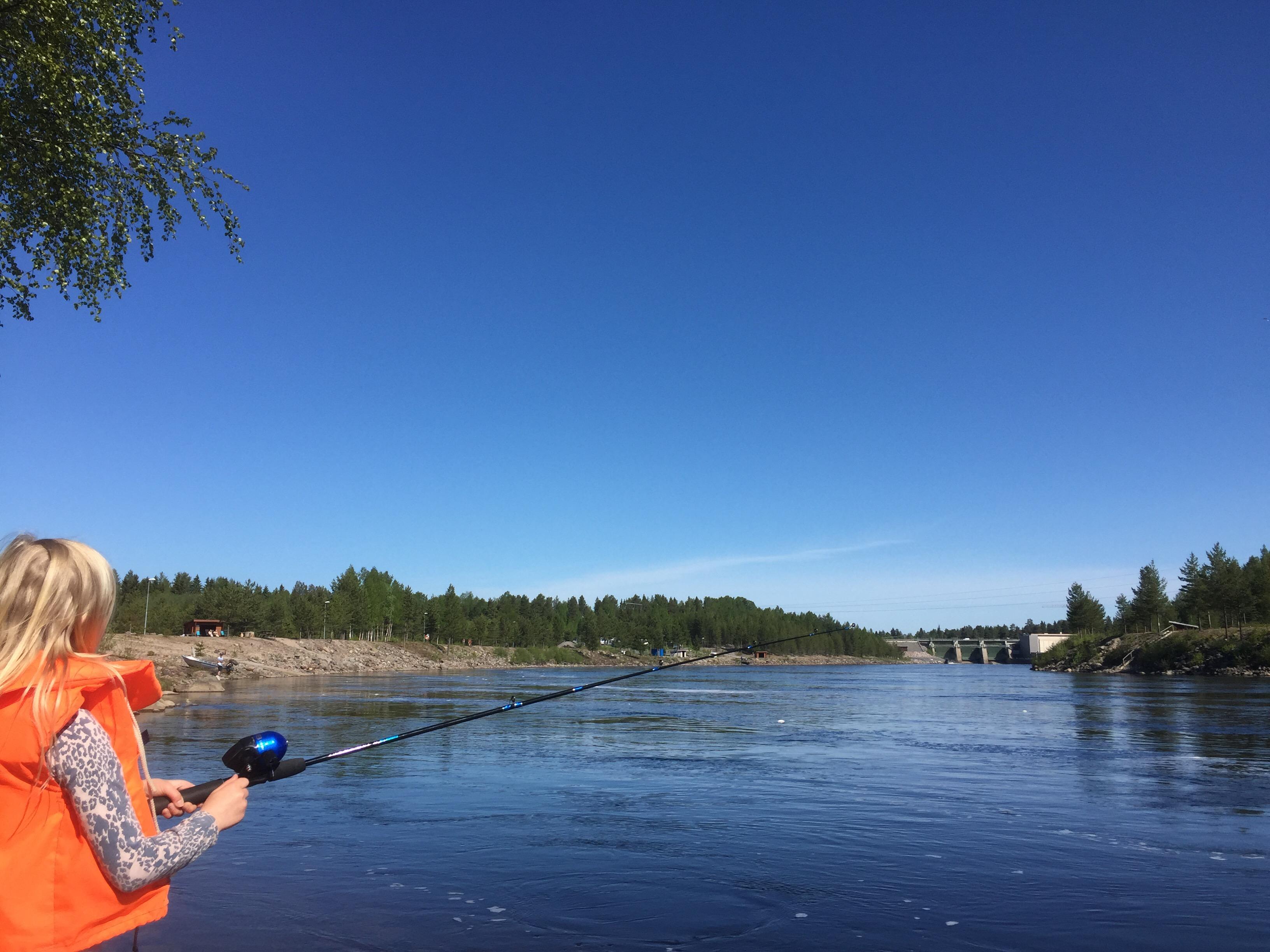 fiske luleälv boden kraftstation