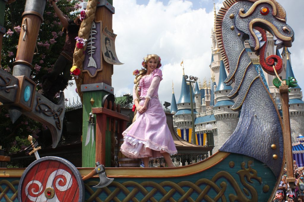 rapunzel magic kingdom