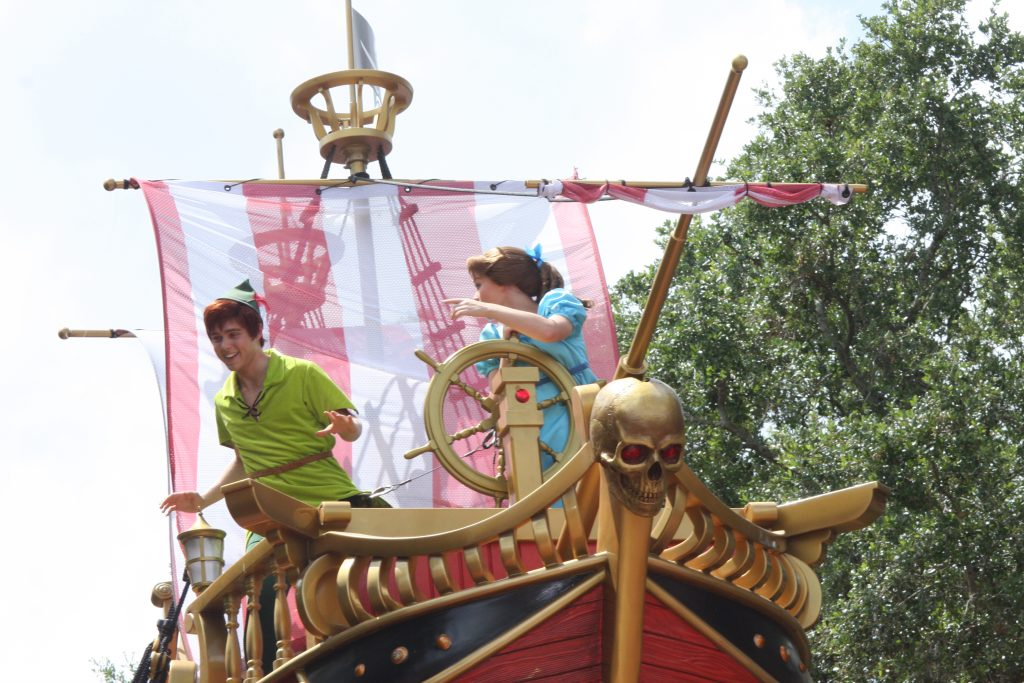 peter pan magic kingdom