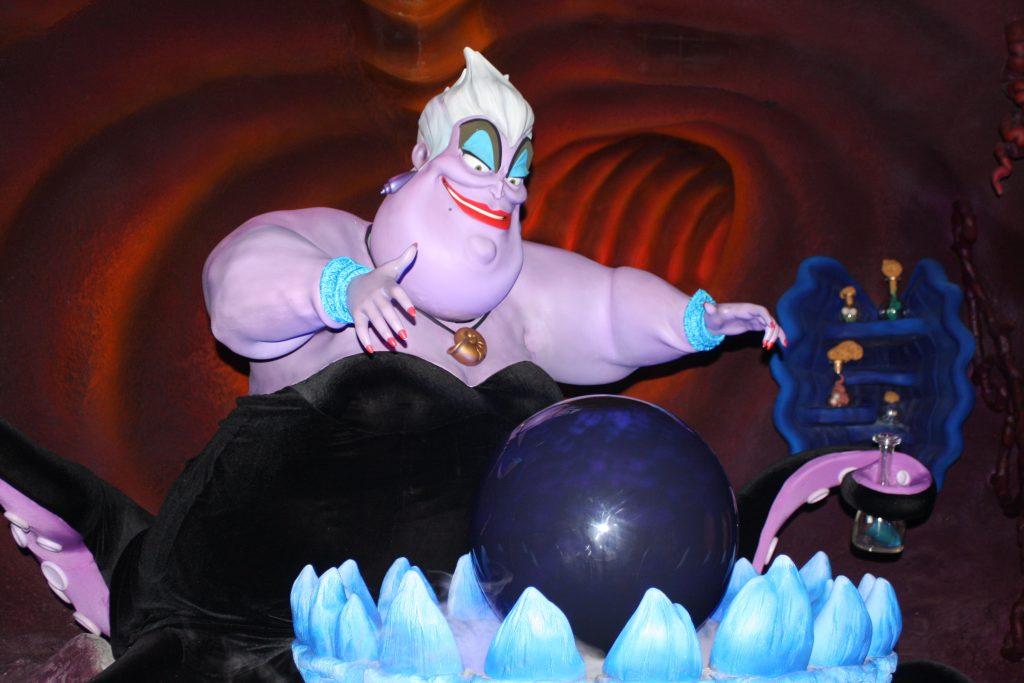 sjöhäxan ursula magic kingdom