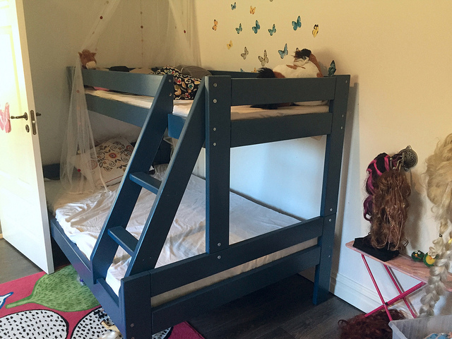 Våningssäng barnrum