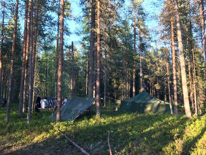 Lägerplats Strövarna Friluftsfrämjandet