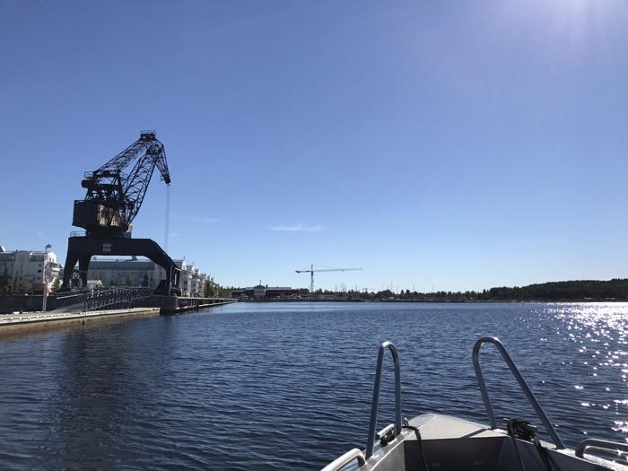 Södra hamn Luleå