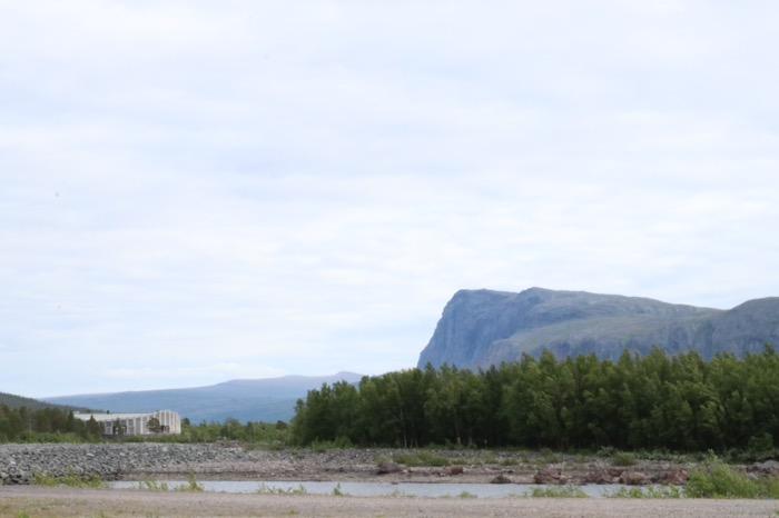 Naturum Laponia från Stora sjöfallet