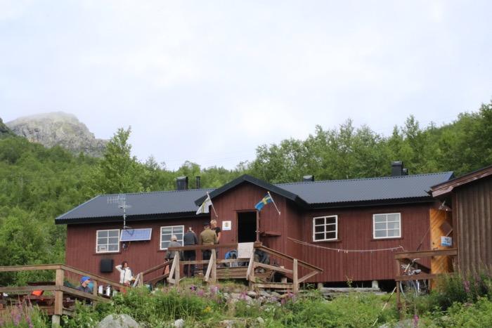 STF's stuga Vakkotavare kungsleden