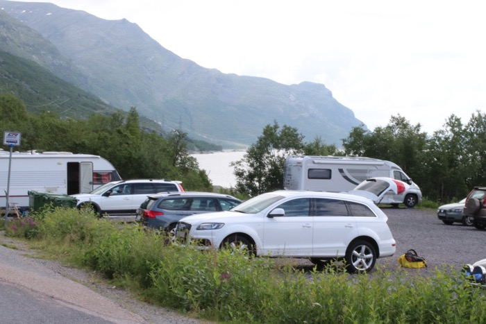 STF Vakkotavare Kungsleden parkering