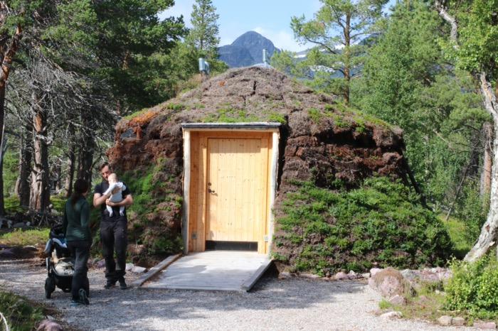 Naturum Laponia torvkåta