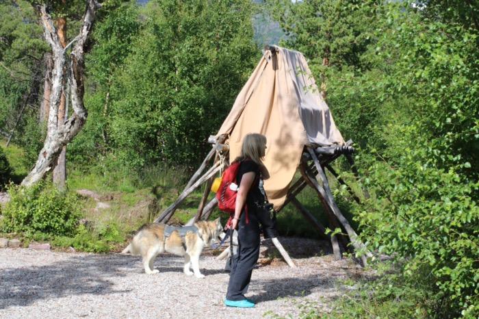 Naturum Laponia matförråd