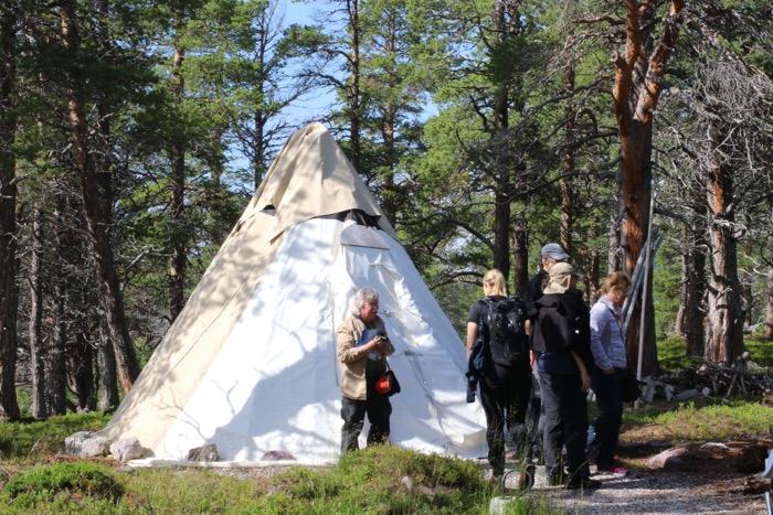 Naturum Laponia kåta