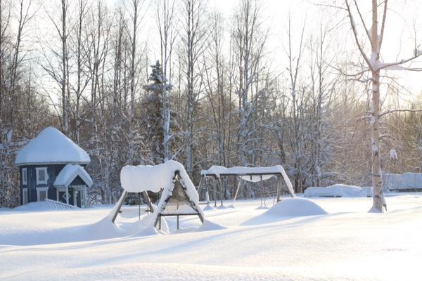 Snö norrbotten 2018